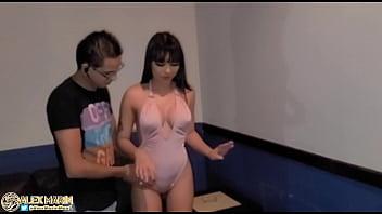 Пацанчик вагинально поимел блонду в массажном салоне